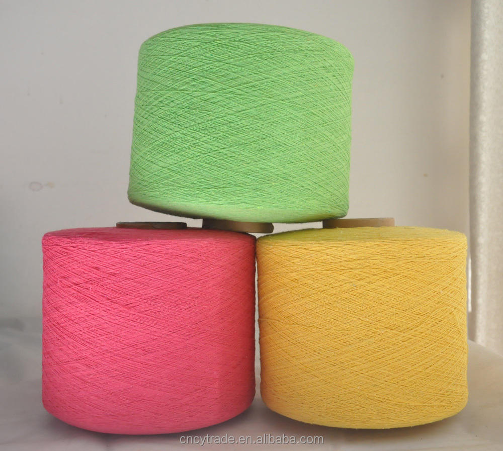 recycle yarn dyed color ne 8/2