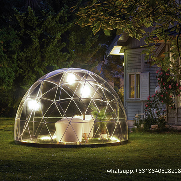 Outdoor Transparent Dome Tent for Garden Green House