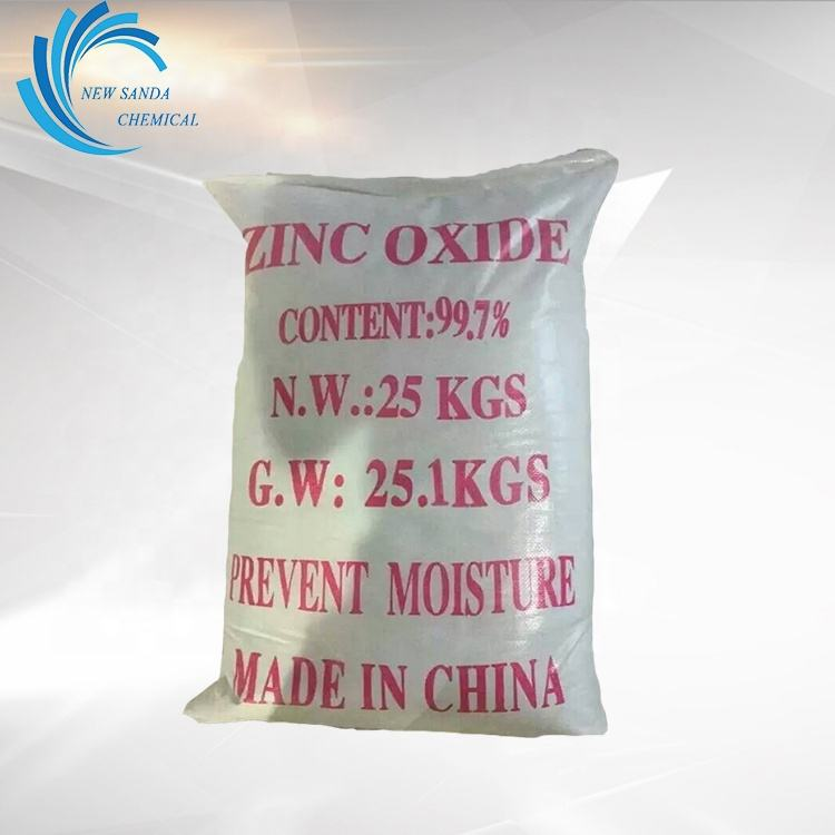 99.7% Indirect Zinc Oxide 1314-13-2 Industry grade