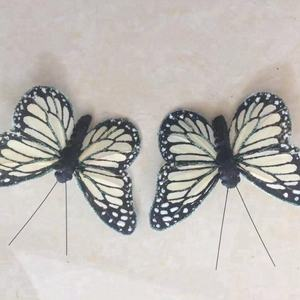 작은 artical feather butterfly
