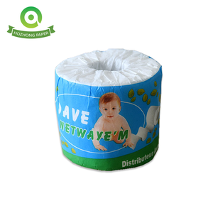 100% virgin houtpulp mini gedrukt toilet tissue roll
