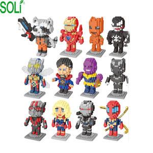 building blocks marvel legends action figures marvel blocks
