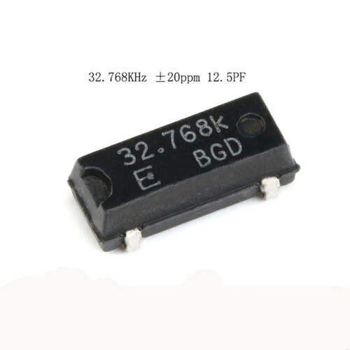 MICRO CRYSTAL MS1V-T1K 32.768 kHz ± 20PPM 12.5pF SMD 10 pcs