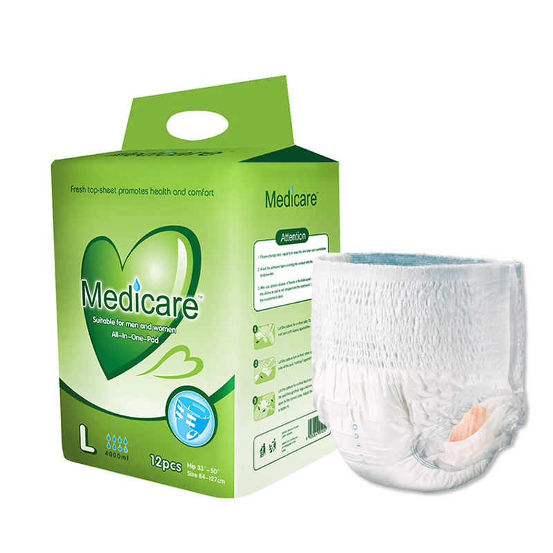 Soft Comfortable Ecuador Malaysia Adult Diaper in Bales Adult Nappy Disposable Diaper for the Elderly