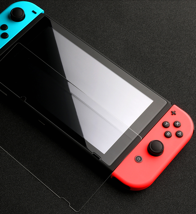 DMAX HD Clear Tempered Glass Hot Selling Wholesale Anti-scratch Screen Protector For Nintendo Switch