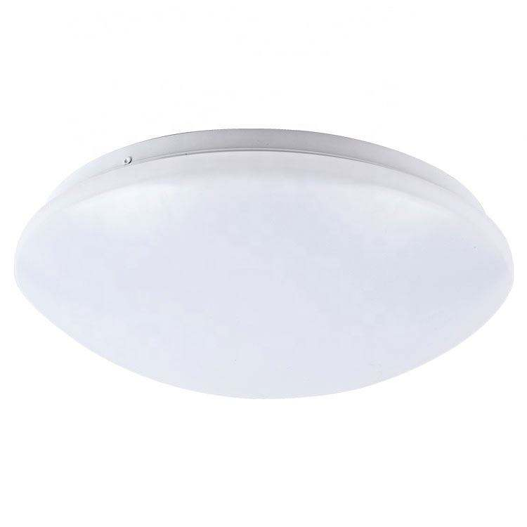 3CCT Color changeable adjustable Dimmable Waterproof IP54 oyster led light, sensor surface mounted oyster shell ceiling lamp 18w