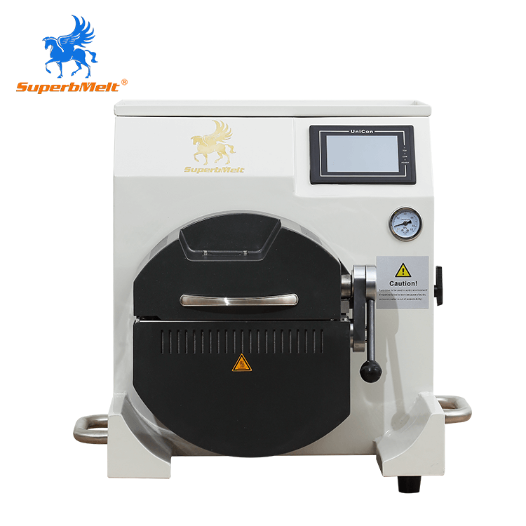 Mini vacuum induction casting machine for jewelry
