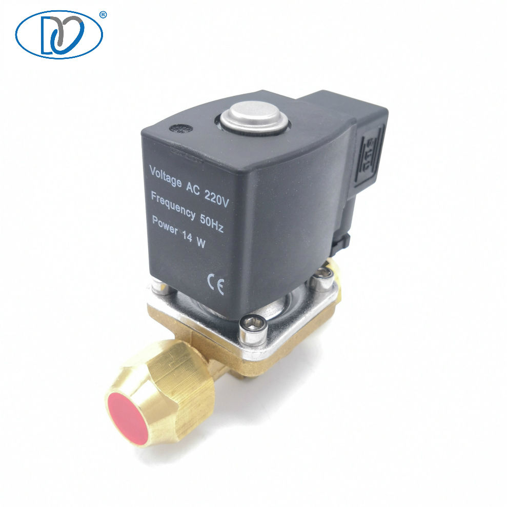 High Temperature Steam Iron Solenoid Valve for Boiler