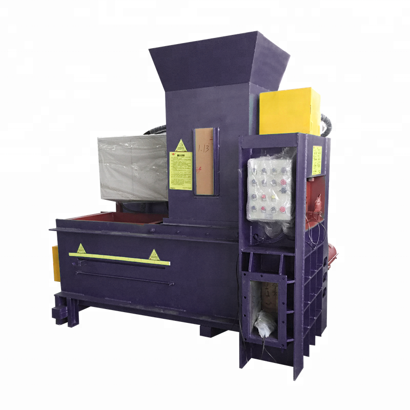 Rectangular Hydraulic Packaging Palm Saw Dust Baling Machine