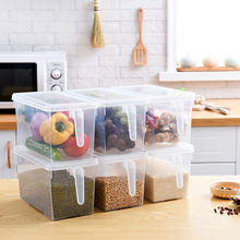 2021 Hot  kitchenmulti function plastic storage container box with handle