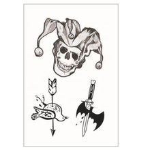 High quality Halloween decoration party supplies temporary tattoo sticker