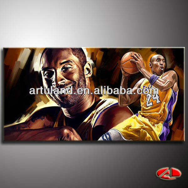 Pop art of kobe bryant