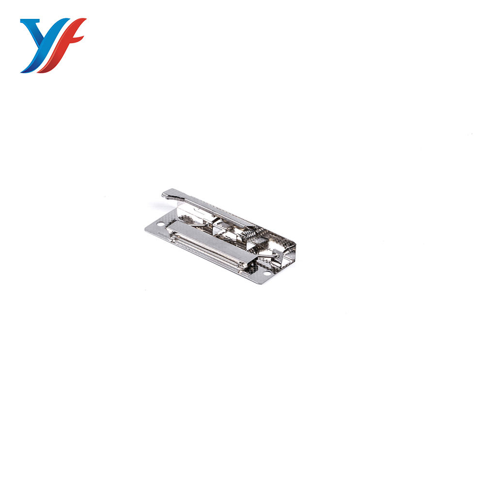 Durable good quality office supplies iron metal lever clip for paper