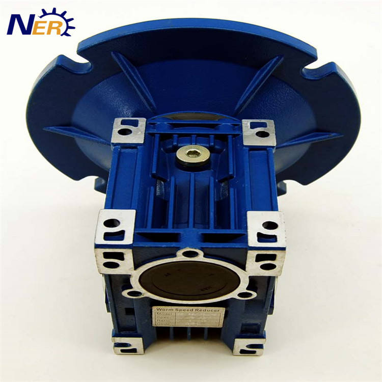 Cone drive speed reducer nmrv hollow shaft gearbox