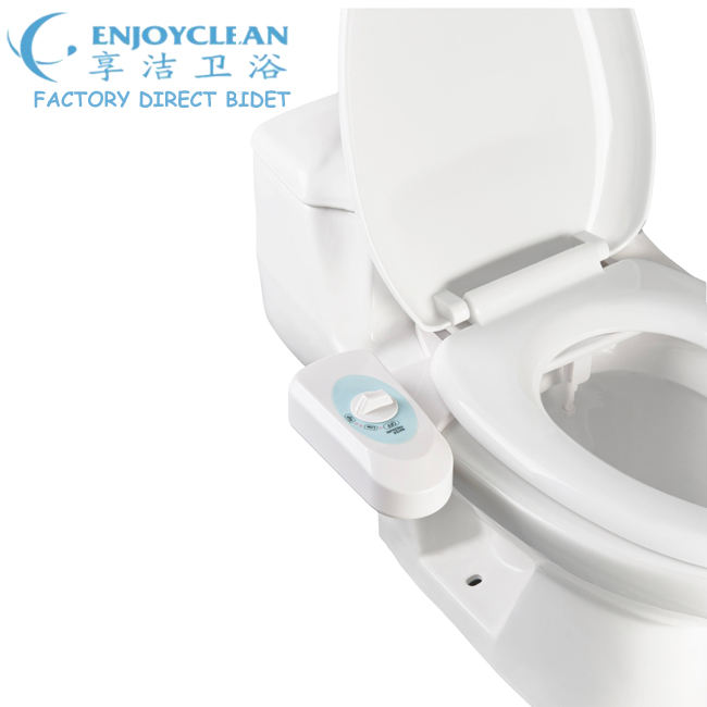 Fresh Water Non Electric Easy To Install With Self Cleaning Nozzle Customizable Pressure Settings 5 Pack Bidet Toilet Attachment Mechanical Bidet Sprayer For Toilet White Clear Rear Formtech Inc Com