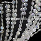 Iridescent acrylic plastic bead curtain for wedding & home decor