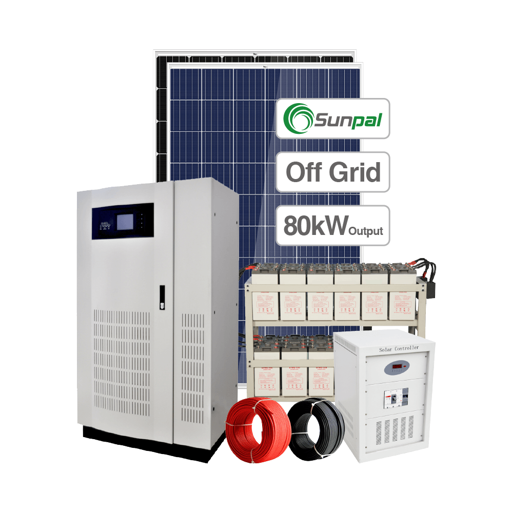 <span class=keywords><strong>Commerciale</strong></span> Off Grid 80 Kw Kit Sistema Solare 80000 W Pannello Solare Prezzo del Sistema