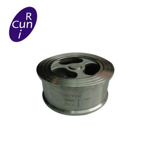 Metal Seated Tilting Disc Wafer vertical swing check valve
