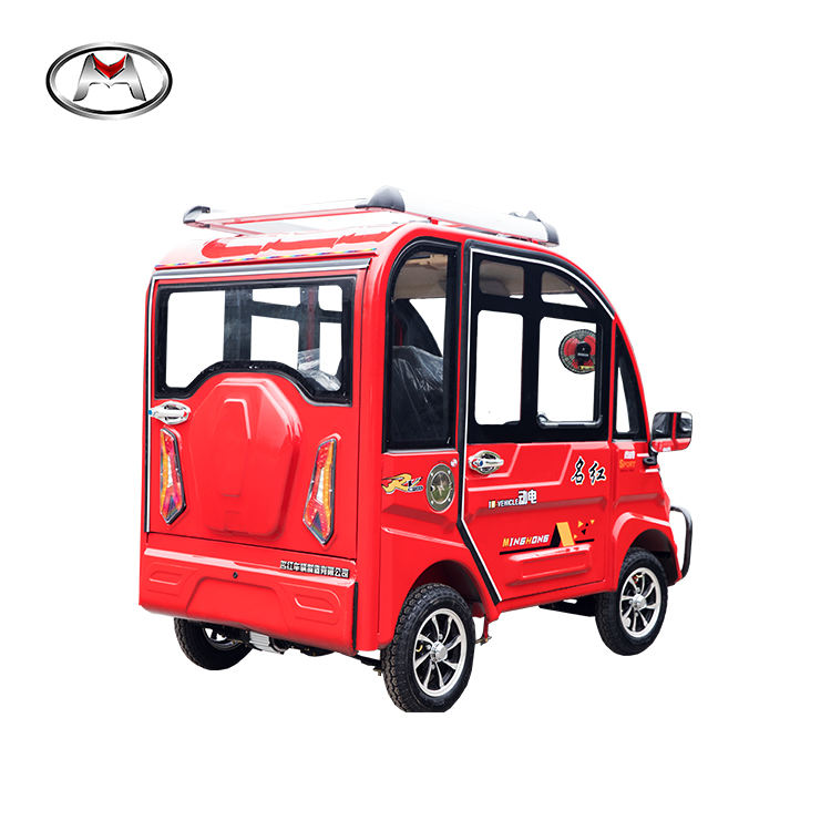 Top quality passenger vehicle motorized electric four wheel motorcycle taxi