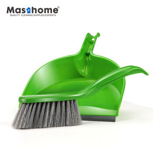 Masthome Cheap home cleaning multi-functional Daily cleaning necessity short handle brush plastic mini dustpan set