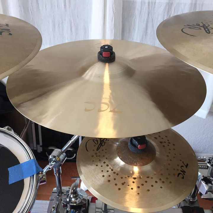 Sounds amazing ,High Quality TCC B20 cymbals gong bright cymbals for drumset