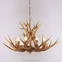Modern European wooden chandelier with new design for hotel and resturant