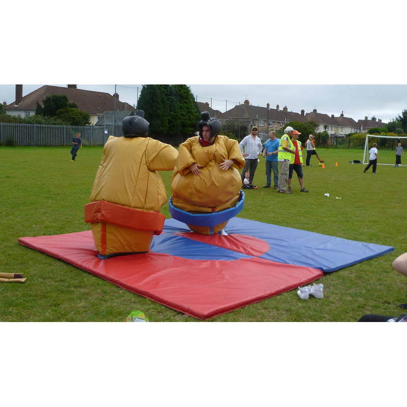Kids Inflatable Sumo Wrestling Suit Fighting Sumo Set