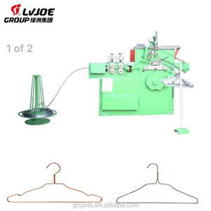 2018 new arrival easy and safe to operate wire hanger hook making machine close hanger making machine