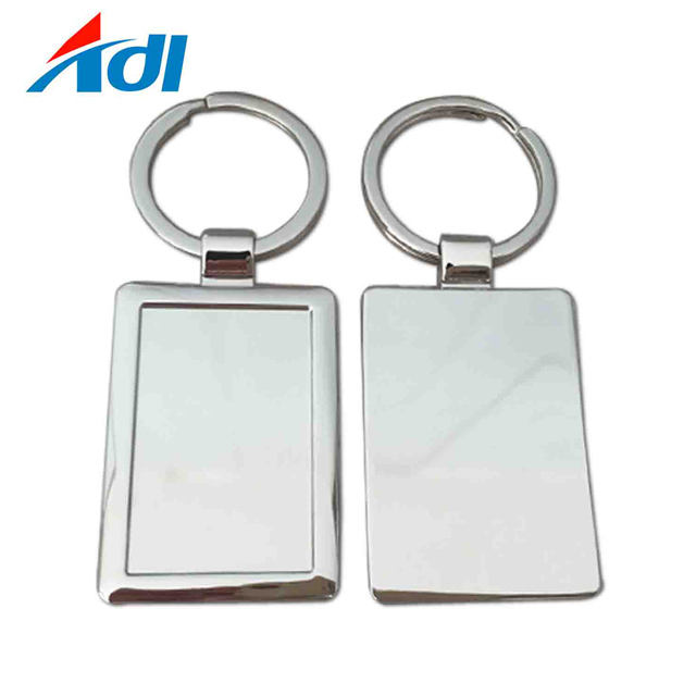 Promotional Metal Blank Sublimation Keychain for hot sale