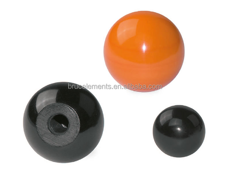Gloss Finish Duroplast Ball Knobs DIN319 self-locking BK37.0003