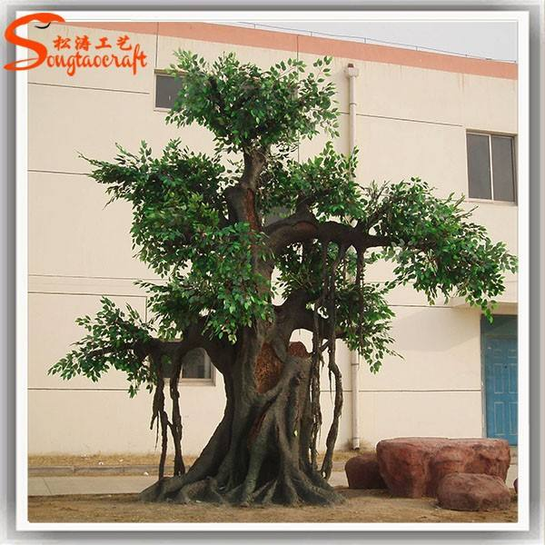 Alibaba china large outdoor realistic artificial big decorative tree stump for office baobab trees for sale fruit trees