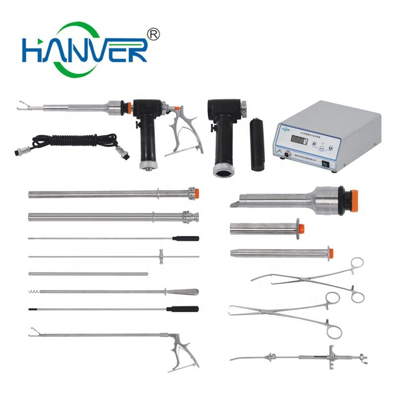 HANVER Gynecology Morcellator Set Gynecological Instruments Electric Uterus Cutter