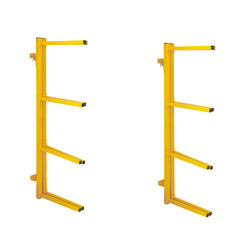 Wall mounted multi-functional metal automotive bumper stands