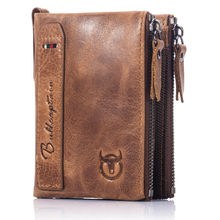 Top 10 Branded Genuine Leather Wallet for men with zip coin pocket