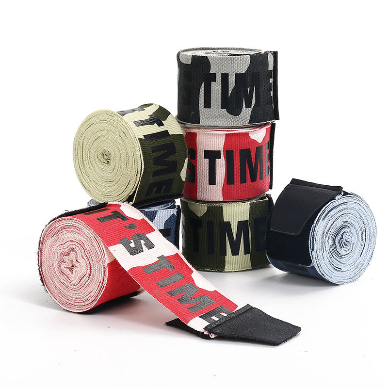 Camo Custom Boxing Hand Wraps, Colorful Fighting Hand Wraps/Handwrap Instruction for Boxing, Kickboxing, MMA