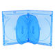 Multi-disc dvd packing 14MM Bluray Disc DVD Box Slim Blu-Ray Case 6 Discs Blue CD Case