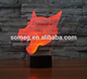 3D Lamp 7 Color Wolf Led Night Lamps for Kids Touch Led USB Table Lampara Lampe Baby Sleeping Led