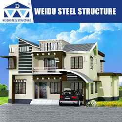 2019 Weidu Steel Structure Building Luxury  Modular House