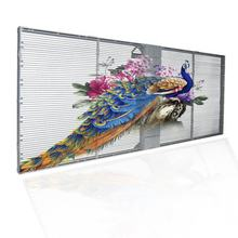 High Quality HD Video Advertising LED Display P3.91 Indoor Glass Transparent LED Screen