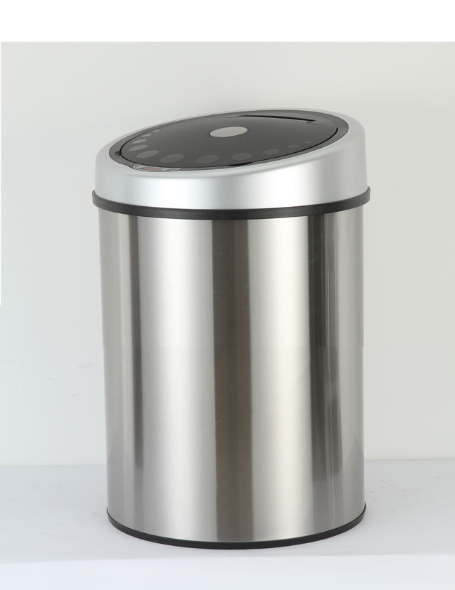 stainless steel office compost bin