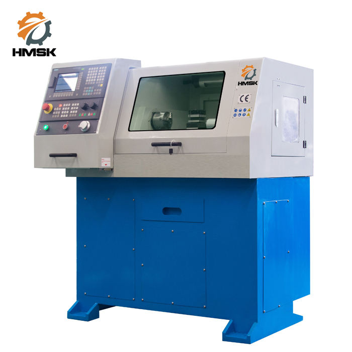 CNC210 educational cnc lathe machine hobby cnc lathe machine price and specification with CE