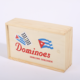 Durable Educational Colored Double Nine Cuban Dominoes In Wooden Box