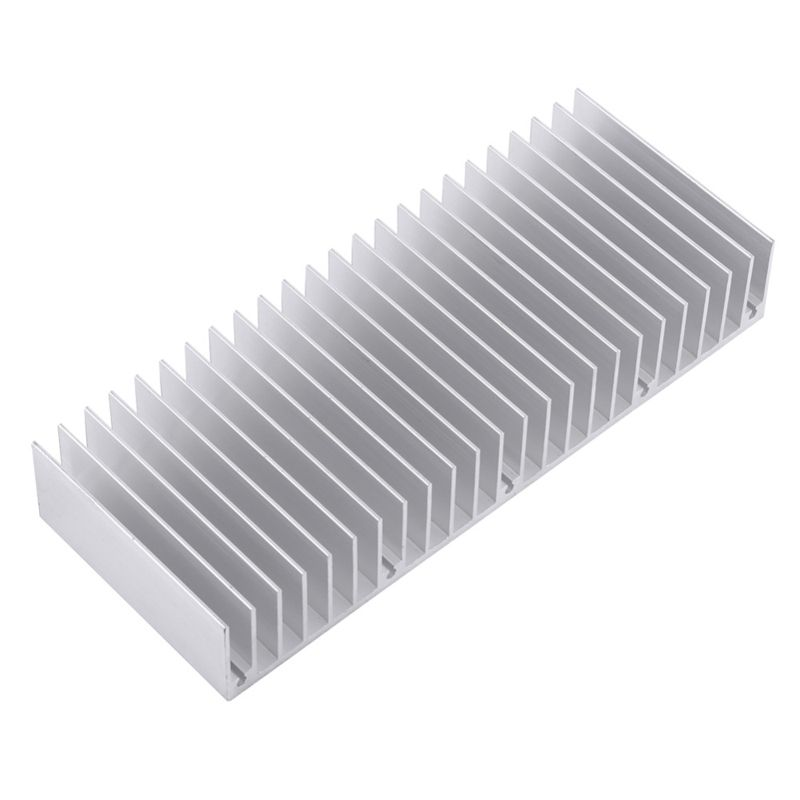 OEM ODM Extruded Aluminum stamping heat sink amplifier for electronic equipment