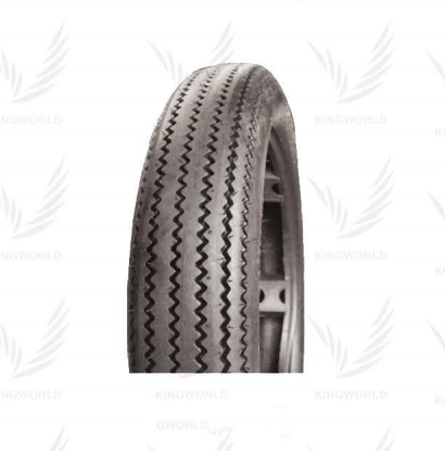 High quality pneumatic vintage sawtooth well sold motorcycle tire 4.5-18 for street