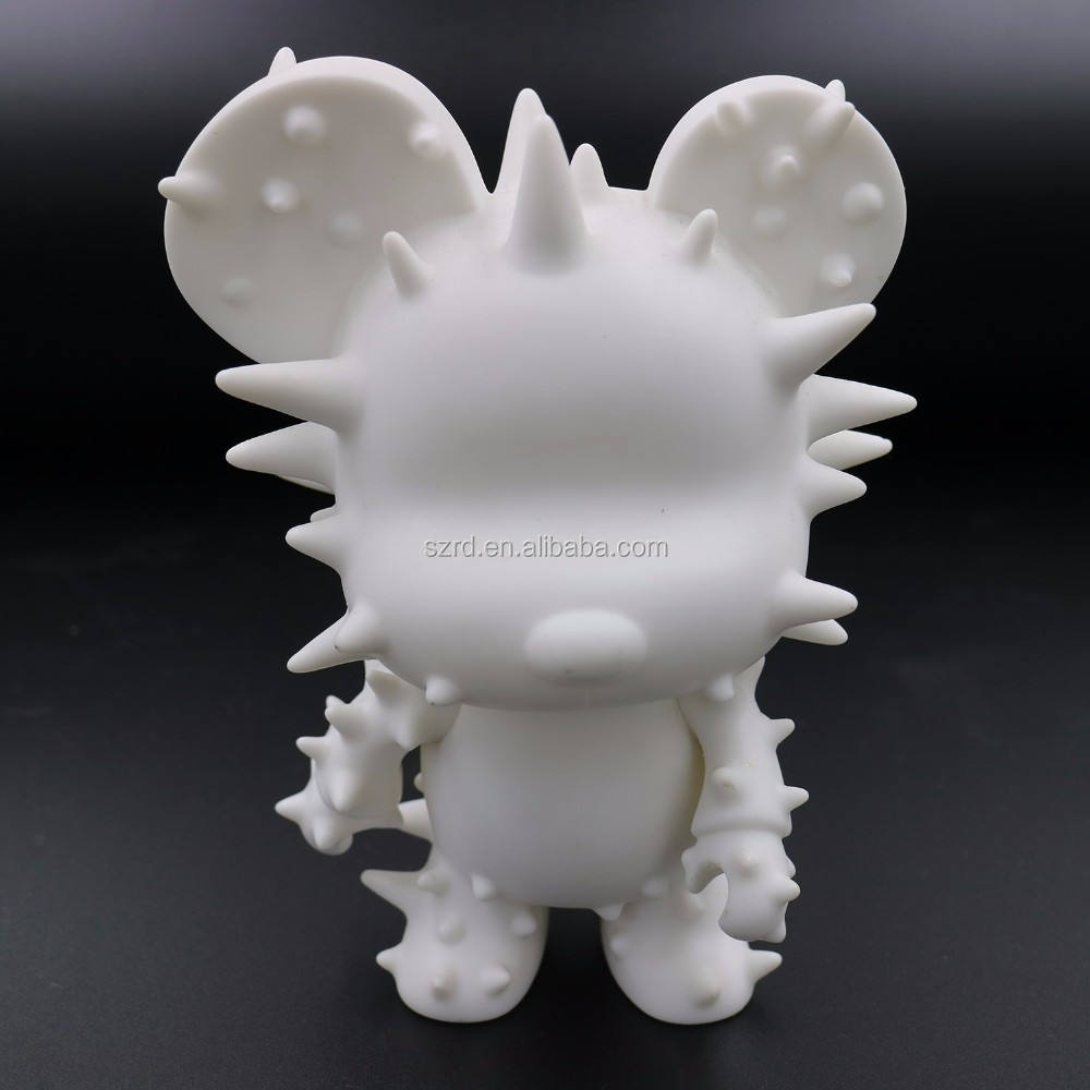 custom DIY vinyl figure China manufactory/High quality blank vinyl action toys/Hot sale OEM blank vinyl toys