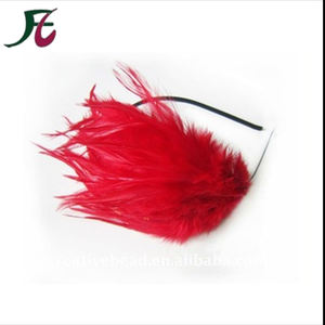 natural fashion feather hairband
