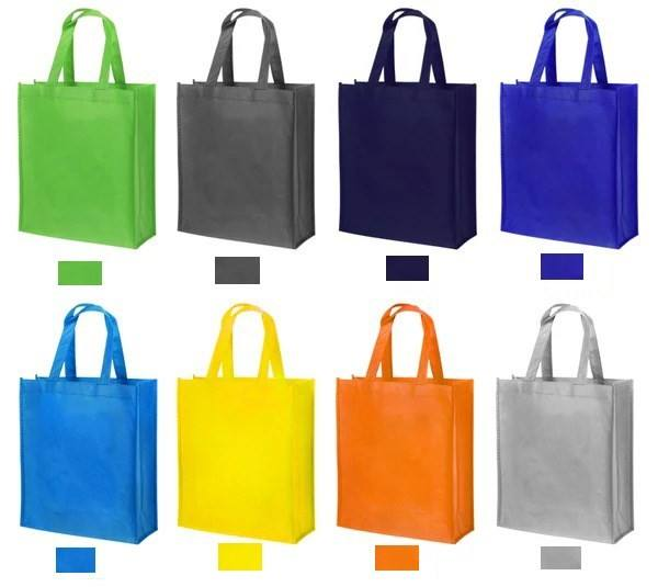 2020 Hot Sale Promotional Customized Cheap Logo Printed Recycled Handled Non Woven Bag