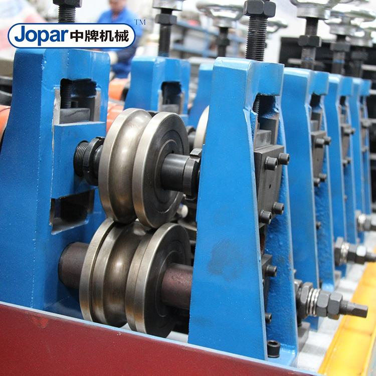 Aluminum stainless steel 201 304 316 welded pipe production line Scaffolding tube pipe making machine