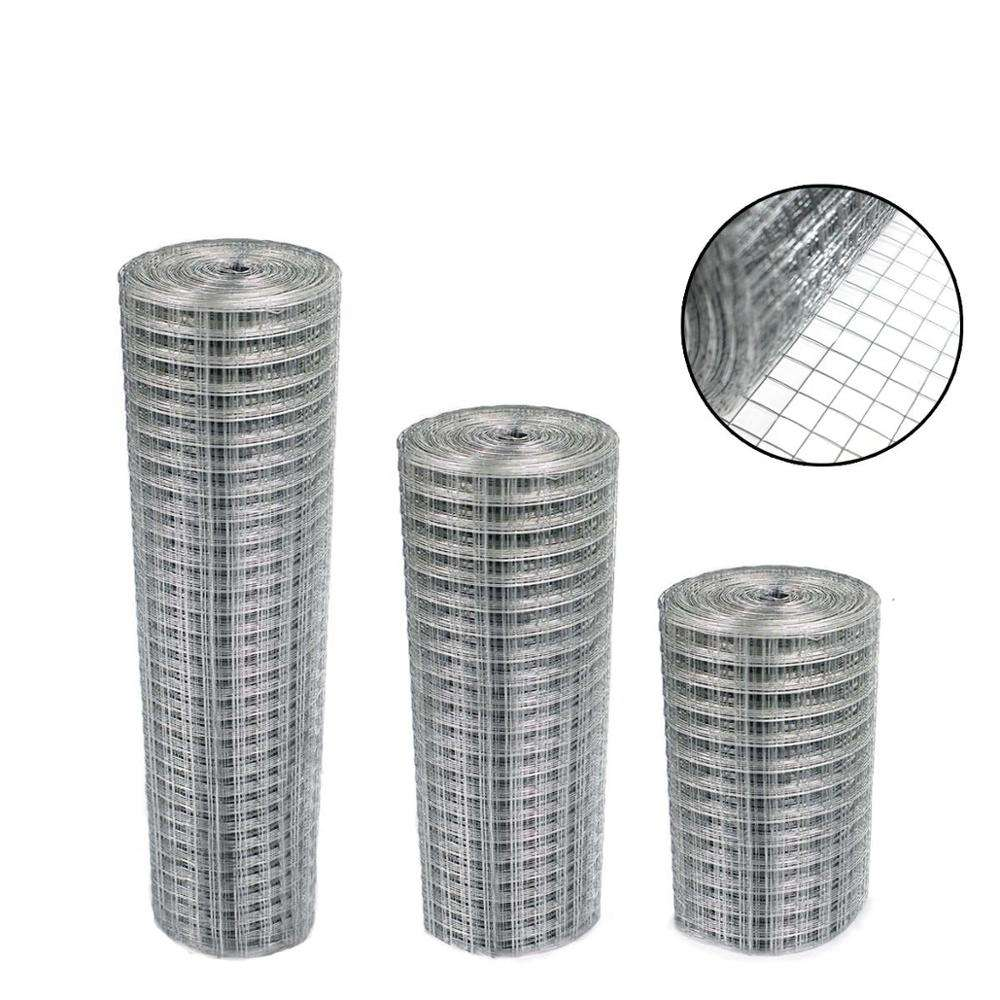 "1""x1"" hot dipped galvanized bird cage welded wire mesh 14 gauge"
