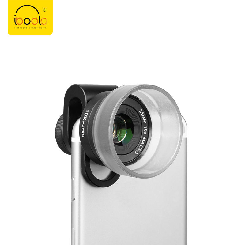 One-Stop Service [ Macro Mini Lens ] 2019 IBOOLO Newest Hottest Wholesales Promotional HD 4K 25MM 10X Macro Mini Camera Lens